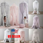 Kids Baby Bedcover Bed Canopy Mosquito Net Tent Cotton Curtain Bedding Dome image