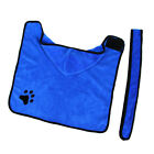 Cat Dog Absorbent Fibre Cloth Pet Bath Towel Drying Cleaning Drying Robe