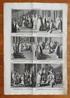 Picart Ceremony Excommunication Reconciliation Of Heretics Religion Folio - 1732