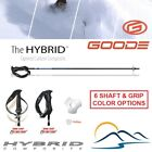 Goode Tapered Hybrid Carbon Ski Poles Strong Carbon Fiber Difficult to Find