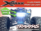 Front Bumper 19 LED DOUBLE Light Bar Lamp Mount for 1/5 Traxxas X-MAXX XMAXX