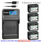 BP-718 CG-700 Battery or LCD Slim Charger for Canon LEGRIA HF M36 M306 M46 M406