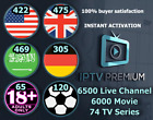 best IPTV service 12000 UK ARB US IT LiveTV CH & VOD EPG Adult Smart TV MAG M3U
