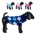 US Pet Dog Sweater Warm Small Medium Large Dogs Puppy Knit Clothes Coat Apparel