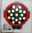 Flood Red Round LED Light, 17 LED Lights, 51W, 60 Degree
