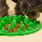 Silicone Pet Puppy Dog Cat Slow Feeder Bowl No Choke/Gulp Bloat Water Feed Dish