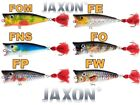 Pike Bass Perch Lure Topwater Popper JAXON HOLO SELECT Top Water Pollock Fishing