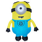 Adult Men's Inflatable Minion Despicable Me Mascot Costume Cosplay Cloth 2 Style