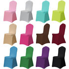 Spandex Stretch Chair Covers Universal Polyester Wedding Banquet -Multicolors
