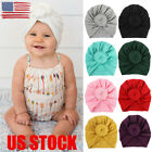 US Infant Baby Turban Toddler Kids Boy Girl Cotton Blends Hat Lovely Soft Hat