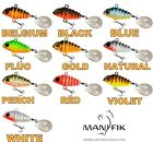 Spinning Tail Spinner Lure Jig PePe 5g-12g Pike Perch Bass Fishing Bait Manyfik