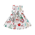 UK Stock Festival Kids Baby Girls Christmas Santa Party Dress Dresses Clothes <br/> ❤2018 BRAND NEW STYLE❤UK STOCK DISPACH❤FAST &amp; 3~7 DAYS❤