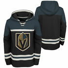 NHL Vegas Golden Knights Asset Pullover Hockey Hoodie Top Sweater Youth Kids $64.52 USD on eBay
