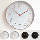 Home Office Modern Large Wall Clock Mirror Unique Big Number Silent Decor New US