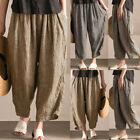 Women Baggy Harem Pants Loose Casual Dance Print Trouser Yog