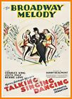 The Broadway Melody  1920's Movie Posters Classic & Vintage Cinema