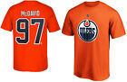 Connor McDavid Edmonton Oilers #97 Orange NHL Boys T-Shirt - Youth S, M, L, XL $24.99 USD on eBay