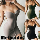Sexy Women's Bandage V-neck Bodycon Evening Party Club Cocktail Short Mini Dress