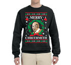 Внешний вид - Merry Chrithmith Mike Tyson Ugly Christmas Sweater Funny Holiday Sweatshirt