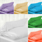 Assorted Solid Colors Woven Polyester Pillow Case Bedding Pillowcase ALL SIZE!! image