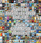 Special Interests DVD Lot #1: DISC ONLY - Pick Items to Bundle and Save!