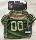 Tampa Bay Buccaneers Dog Jersey - SMALL Camo - Official NFL - Pets First - NWT