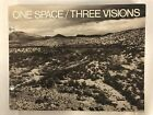 """Vintage Black White Photoraphy ~ 1979 """"One Space/Three Visions: Catalog Museum"""