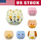 Toddler Baby Kid Cotton Cloth Diaper Cover Potty Training Pant Infant  Underwear