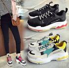 Women Fashion Chunky Trainers Breathable Sneakers Casual Athletic Mesh Dad Shoes