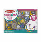 Wooden Bead Necklace Craft Set Kit from Melissa & Doug Created by Me 120+ Beads