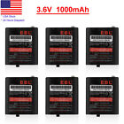 1000mAh 2-Way Radios Battery 53615 For Motorola HKNN4002 T8500 T5950 KEBT-071-D