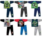 Marvel Comics Boys and Girls Avengers and Incredible Hulk Pyjamas Pjs