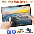 """10.1""""tablet Pc 4/64g Android 7.0 Octa-core Dual Sim &camera Phone Phablet Lot Mg"""