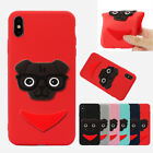 3D Cute Dog TPU Soft Protective Phone Case Cover For iPhone XSMAX XR Huawei