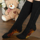 5V USB Chargable Electric Heated Socks Feet Warmer Insoles Winter Warm High Tube