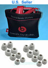 Soft Pouch for Monster Beats Wireless Powerbeats 2.0, 3.0 + 8 Pairs Earbuds/Gels