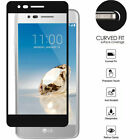 Black Edged FULL Coverage Screen Tempered Glass Protector Guard