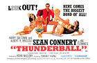 James Bond 007 Thunderball Movie Art Silk Poster 8x12 24x36 24x43 $14.08 CAD on eBay