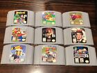Huge Lot of Nintendo 64 N64 Games  - Pick a Title - Goldeneye, Mario 64, Zelda