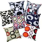 Pillow Cover*Geometry Cotton Canvas Sofa Seat Pad Cushion Case Custom Size*AL6