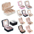 Women Travel Portable Jewellery Box Makeup Case Organizer Packaging Storage Case