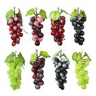 Внешний вид - Lifelike Artificial Grapes Plastic Fake Fruit Food Grape Home Garden Decor
