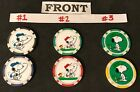 Peanuts Snoopy/Woodstock Golf Ball Marker or Poker Chip Card Protector