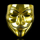 ANONYMOUS HACKER V FOR VENDETTA GUY FAWK FANCY DRESS PROM HALLOWEEN FACE MASK US
