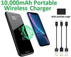 Portable 10,000mAh Wireless Charger Power Bank - Dual USB A...