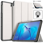 "Smart Stand LEATHER Case Cover For Huawei MediaPad M3 Lite 10"" 8.0"" 8.4"""