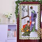 Traditional Japanese Women Door Curtain Knitting Feng Shui Bathroom Ornament