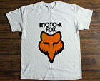 Vintage MOTO-X FOX Motocross AHRMA Old School T-Shirt Reprint Size S - 2XL image
