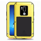 LOVE MEI Waterproof Metal Gorilla Glass Outdoor Case for LG G7 ThinQ G6 V30 V20