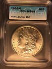 1900-O MS-64 VAM 15A Doubled Stars Top 100 Toned Morgan Silve Dollar Nice Luster